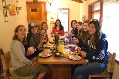 Breakfast in Curarrehue