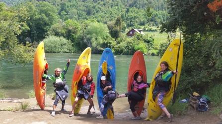 Yay kayaking!