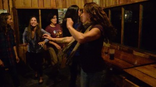 Last night dance party